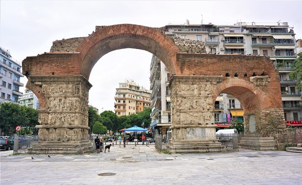 Triumphal Arch of Galerius - Thessaloniki, Greece by Joy of Museums