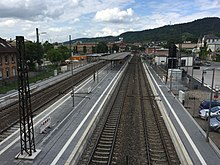 Bahnhof Weinheim Bergstrae  Wikipedia