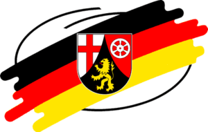 Landeszeichen des Landes Rheinland-Pfalz / Sym...