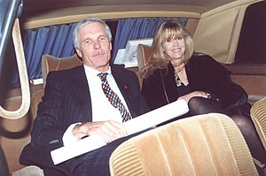 English: Jane Fonda and her husband Ted Turner...