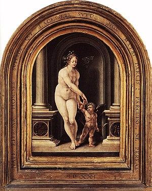 English: Venus and Cupid Magyar: Vénusz és Cupidó