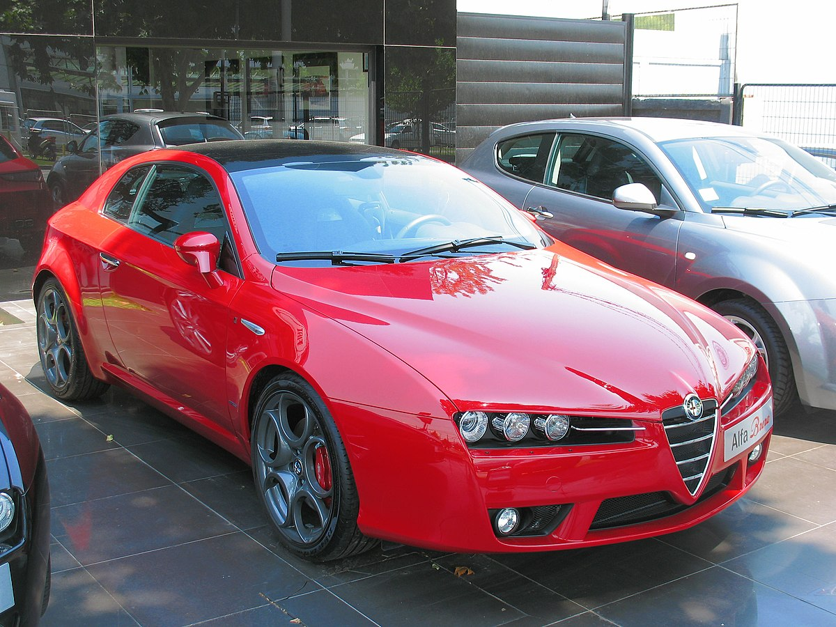 Alfa Romeo Brera And Spider  Wikipedia