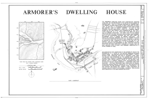 File:Armorer's Dwelling House, Northwest side of