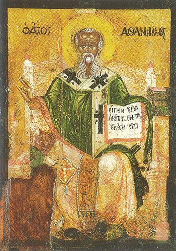 Icon of St. Athanasius of Alexandria