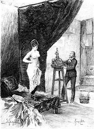 Illustration of Honoré de Balzac's The Purse (...