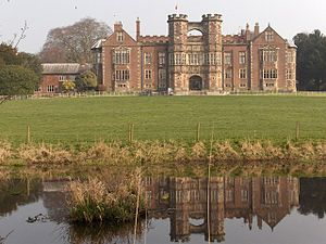 English: Brereton Hall Grade 1 listed 16th cen...