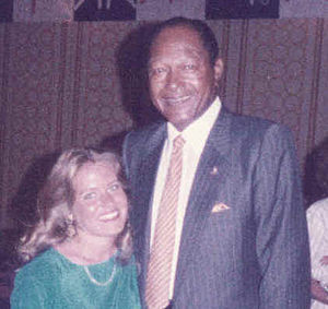Tom Bradley with Charlotte Laws