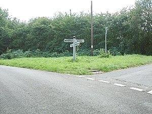 English: Crossroads.