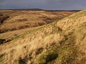English: Cwm Pedol in January sunshine Keyword...