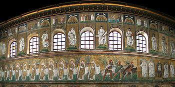 Basilica of Sant'Apollinare Nuovo, Ravenna, Em...