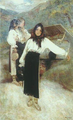 Fete la fântână (1905)