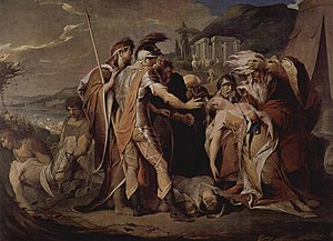 King Lear mourns Cordelia's death, James Barry...