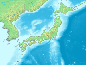 Japan Map Chikei