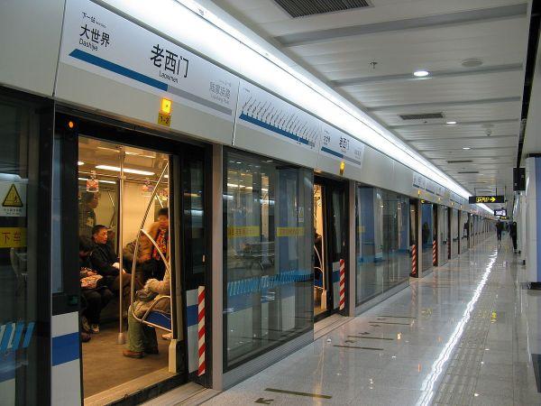 Line 8 Shanghai Metro Wikipedia