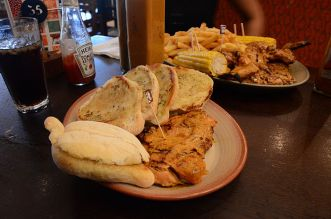 Food served in Nando's