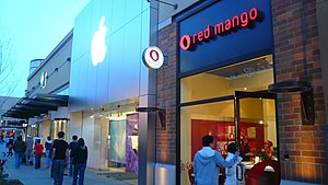 English: Red Mango - Alderwood Mall