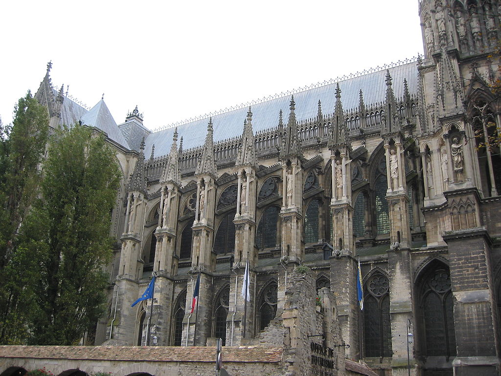 FileReims Cathedral Exterior 9jpg Wikimedia Commons