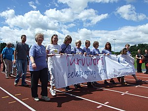 English: Relay For Life Horsham