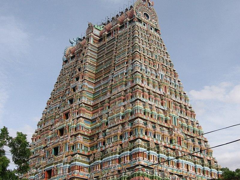 File:Srirangam Temple Gopuram (767010404).jpg
