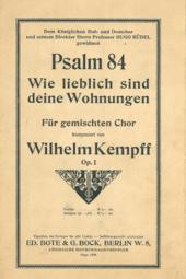 Psalm 84 Wikipedia