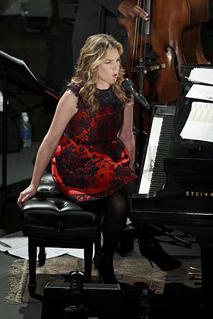 English: Diana Krall live at The Paramount The...