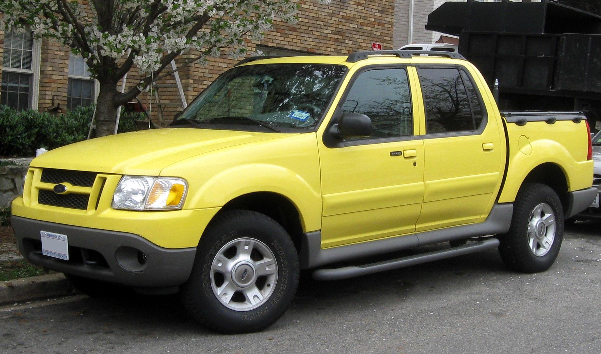 2010 Ford Explorer Sport Trac Radio