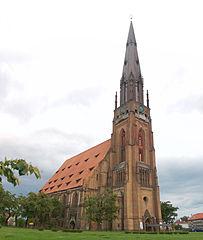 Marienkirche Chojna Bild: Ralf Roletschek / Wikipedia