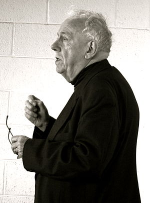 English: Alasdair MacIntyre at The Internation...