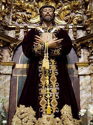 English: El Cristo de la Capilla del Cristo (A...