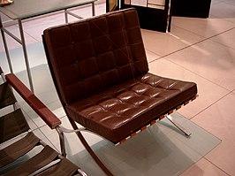 chair design model walking stick south africa barcelona (stoel) - wikipedia
