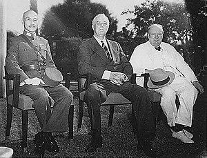 Generalissimo Chiang Kai-shek, Franklin D. Roo...