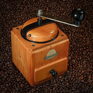 Antique coffee grinder by Zassenhaus Deutsch: ...