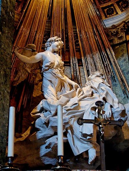 Archivo:Ecstasy St Theresa SM della Vittoria.jpg