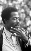English: American civil rights leader and Blac...
