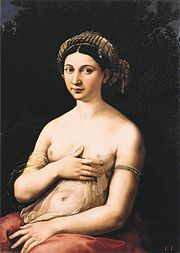 La Fornarina, Raphael's mistress.