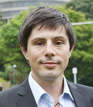 New Zealand Green Party MP, Gareth Hughes outs...