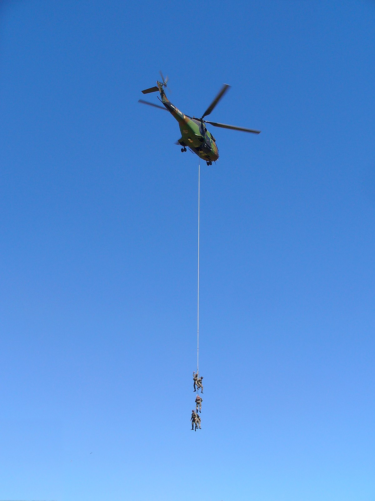 Helicopter Rope Suspension Technique  Wikipedia