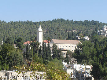 John the baptist Church in Ein Karem Jerusalem...