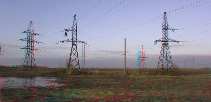 Kiev power line