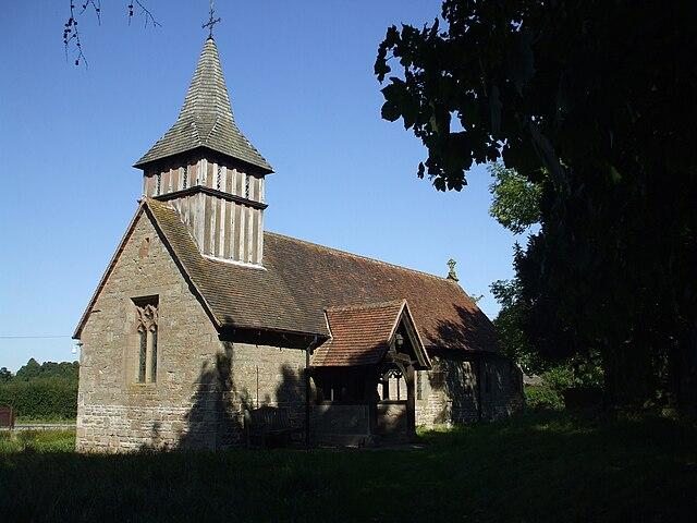 Oldberrow Warwickshire St marys church