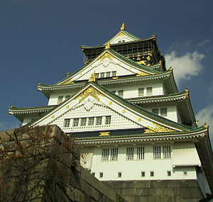 A replicated Osaka Castle has been created on ...