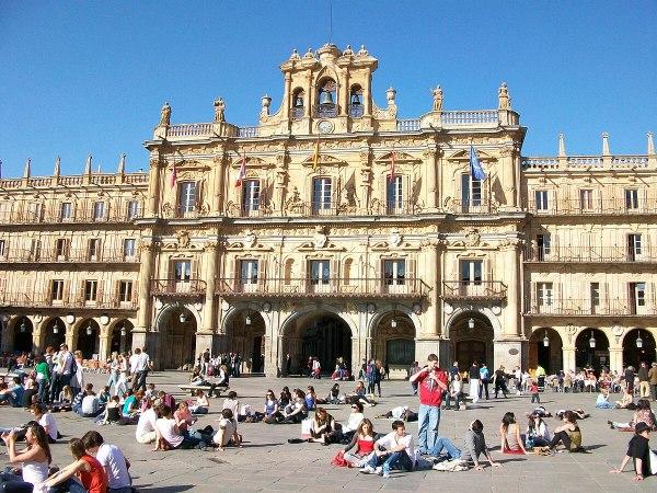 Plaza Mayor Salamanca - Wikipedia