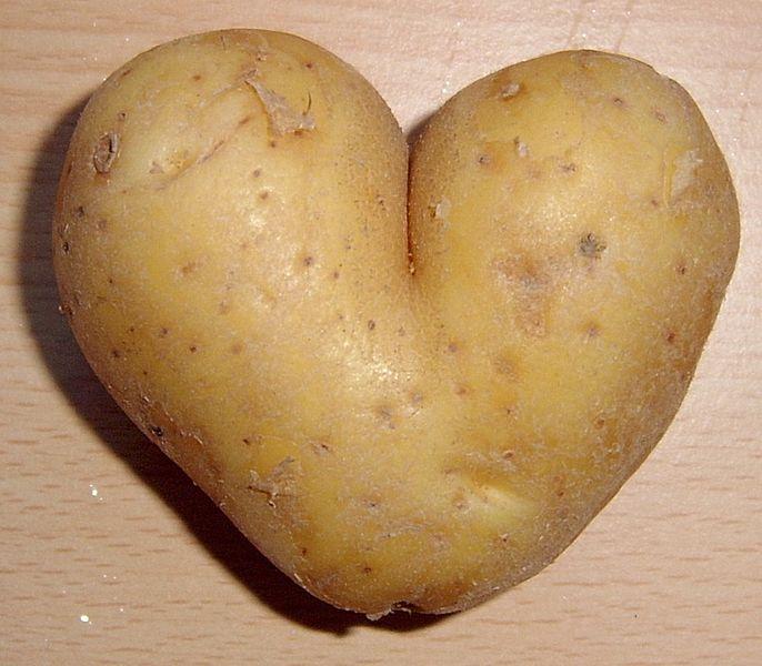 Heart Potato Shaped Yukon