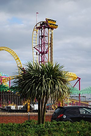 English: Rage rollercoaster The biggest ride a...