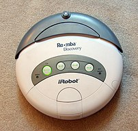 iRobot Roomba Discovery 2.1, sold in early 2007.