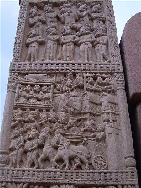 File:Sanchi stupa detail.jpg