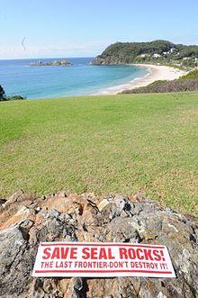 Seal Rocks New South Wales  Wikipedia