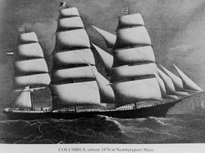 English: Columbus (ship)