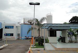 Português: Sede da TV Globo Brasília.