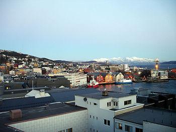 Tromso harbour 3